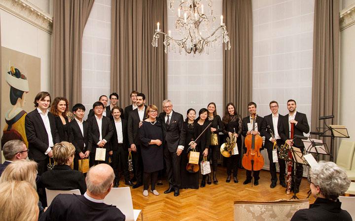 Konzertabend, Karajan Akademie, Palais Am Stadthaus, Schwarz, Mann